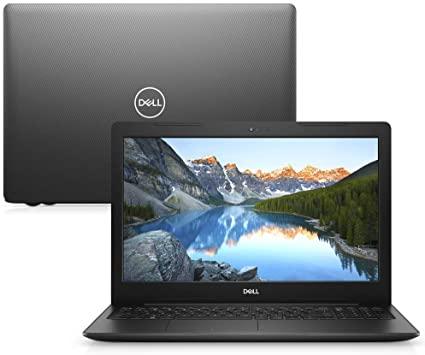 Notebook Dell Inspiron 15 3000, I15-3583-D3Xp, 8ª Geração Intel Core I5-8265U, 8 Gb Ram, Hd 1Tb, Intel® Hd Graphics 620, Tela 15.6″ Led Hd, Linux,Preto