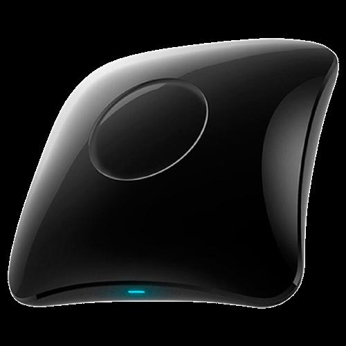 BroadLink RM4 pro IR e RF remoto universal, All in One Hub Code Learning WiFi Remote Control para Smart Home e dispositivos de entretenimento TV, STB, A/C, Curtain Motor, compatível comAlexa